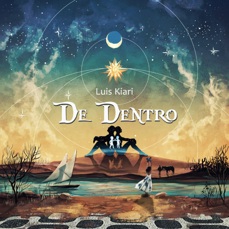 Capa do álbum De Dentro, de Luis Kiari